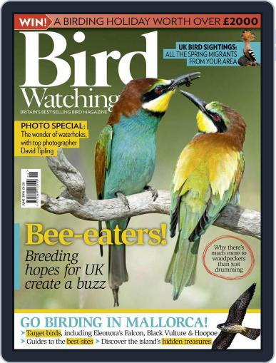 Bird Watching (Digital) June 1st, 2016 Issue Cover