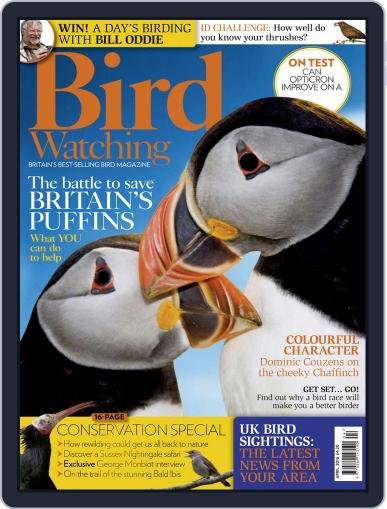Bird Watching April 1st, 2016 Digital Back Issue Cover