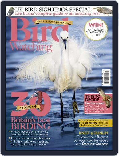 Bird Watching March 1st, 2016 Digital Back Issue Cover