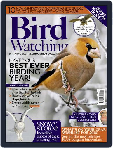 Bird Watching (Digital) January 1st, 2016 Issue Cover