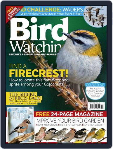 Bird Watching (Digital) October 1st, 2015 Issue Cover