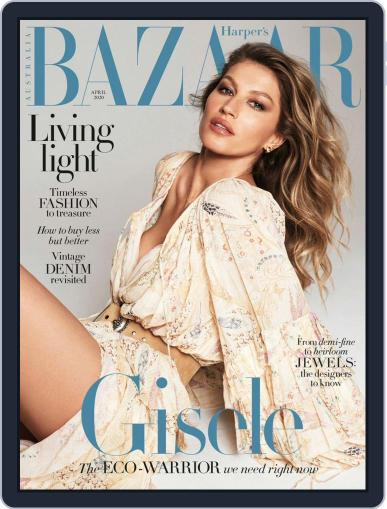 Harper's Bazaar Australia (Digital) April 1st, 2020 Issue Cover