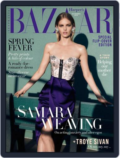 Harper's Bazaar Australia (Digital) November 1st, 2019 Issue Cover