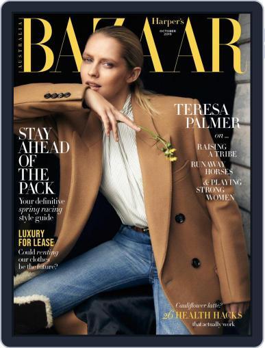 Harper's Bazaar Australia (Digital) October 1st, 2019 Issue Cover