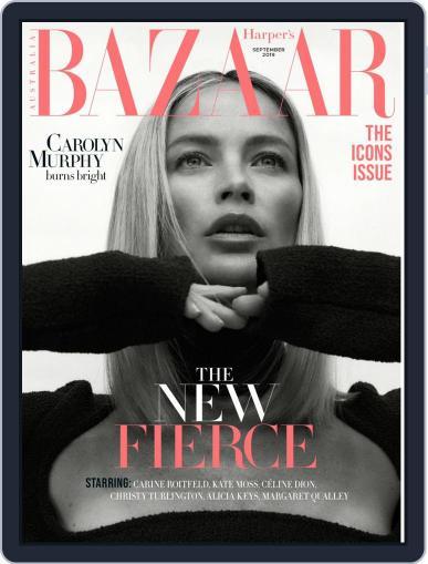 Harper's Bazaar Australia (Digital) September 1st, 2019 Issue Cover