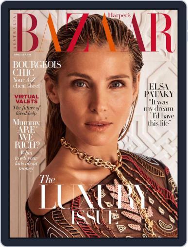 Harper's Bazaar Australia June 1st, 2019 Digital Back Issue Cover