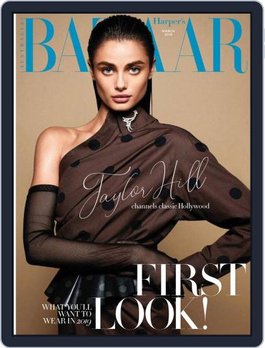 Harper's Bazaar Australia (Digital) March 1st, 2019 Issue Cover