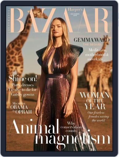 Harper's Bazaar Australia (Digital) December 1st, 2018 Issue Cover