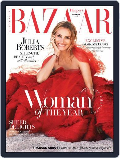 Harper's Bazaar Australia (Digital) December 1st, 2017 Issue Cover