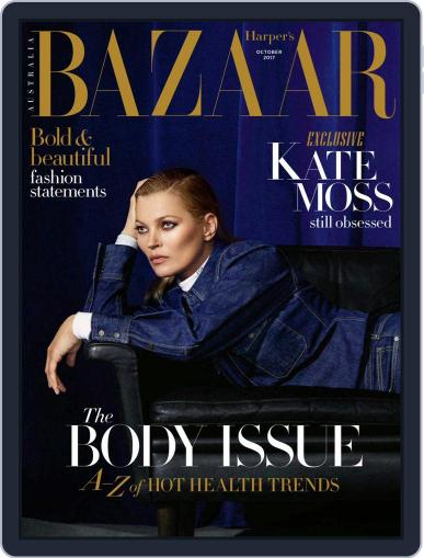 Harper's Bazaar Australia (Digital) October 1st, 2017 Issue Cover