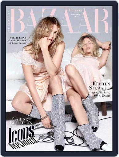 Harper's Bazaar Australia (Digital) September 1st, 2017 Issue Cover