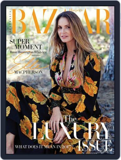 Harper's Bazaar Australia (Digital) June 1st, 2017 Issue Cover