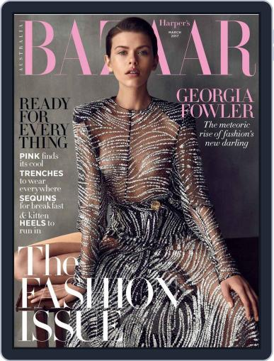 Harper's Bazaar Australia (Digital) March 1st, 2017 Issue Cover