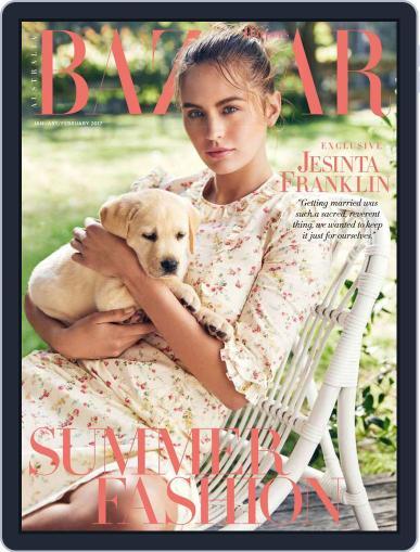 Harper's Bazaar Australia January 1st, 2017 Digital Back Issue Cover