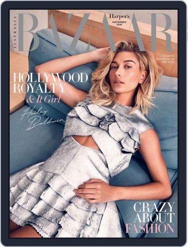 Harper's Bazaar Australia (Digital) November 1st, 2016 Issue Cover