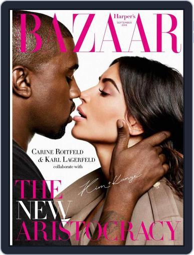 Harper's Bazaar Australia (Digital) August 7th, 2016 Issue Cover