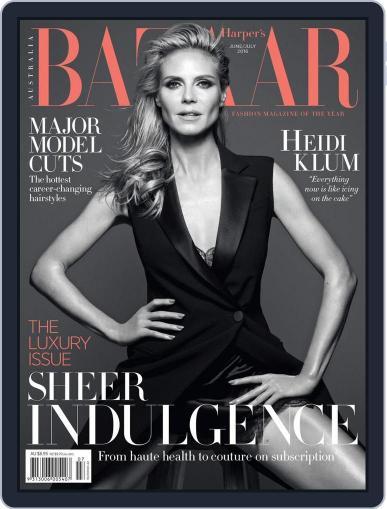 Harper's Bazaar Australia May 8th, 2016 Digital Back Issue Cover