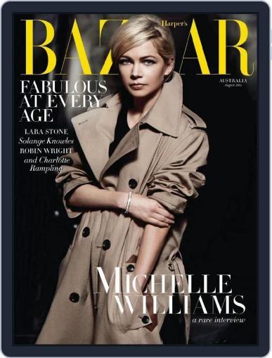 Harper's Bazaar Australia July 31st, 2014 Digital Back Issue Cover