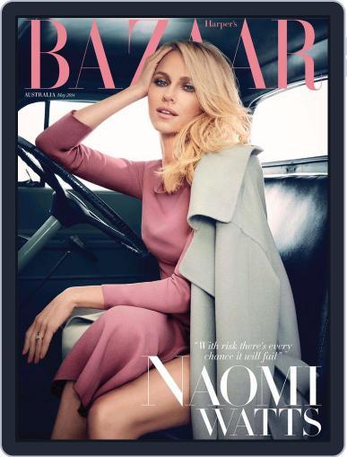 Harper's Bazaar Australia April 6th, 2014 Digital Back Issue Cover