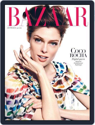 Harper's Bazaar Australia March 9th, 2014 Digital Back Issue Cover