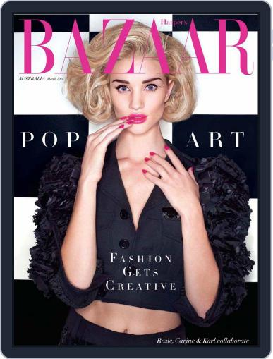 Harper's Bazaar Australia (Digital) February 4th, 2014 Issue Cover