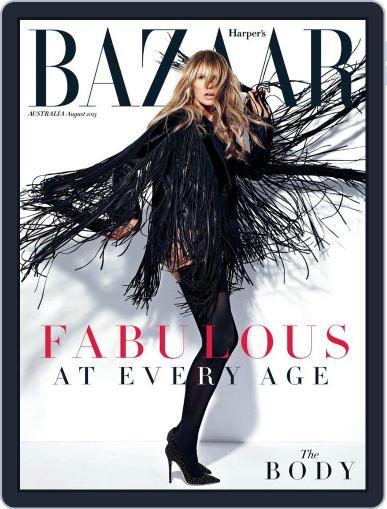 Harper's Bazaar Australia July 1st, 2013 Digital Back Issue Cover