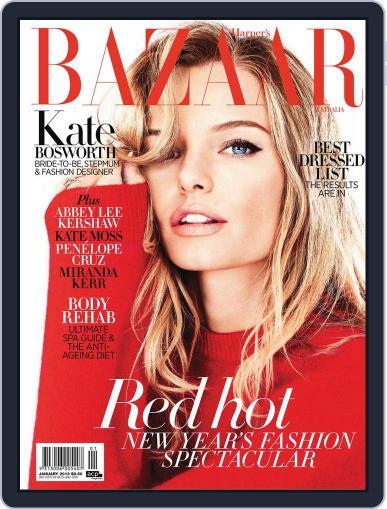 Harper's Bazaar Australia December 16th, 2012 Digital Back Issue Cover