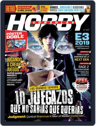 Hobby Consolas June 1st, 2019 Digital Back Issue Cover