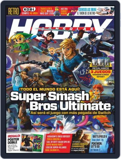 Hobby Consolas (Digital) November 1st, 2018 Issue Cover