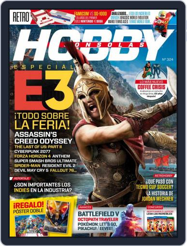 Hobby Consolas (Digital) July 1st, 2018 Issue Cover