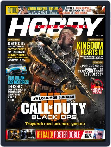 Hobby Consolas (Digital) June 1st, 2018 Issue Cover