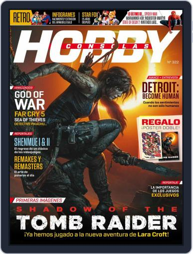 Hobby Consolas (Digital) May 1st, 2018 Issue Cover