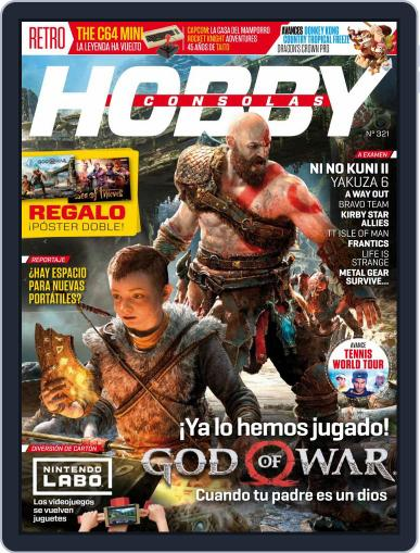 Hobby Consolas (Digital) April 1st, 2018 Issue Cover