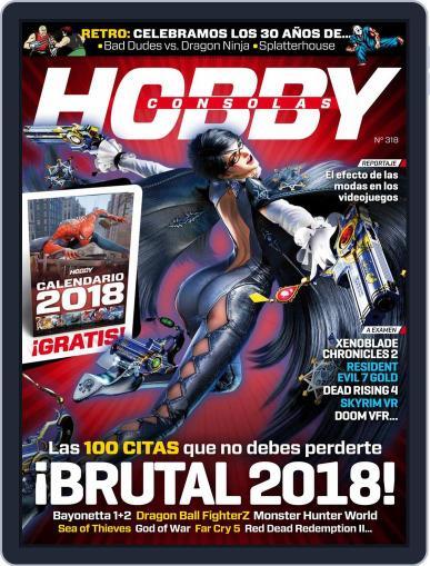 Hobby Consolas (Digital) January 1st, 2018 Issue Cover