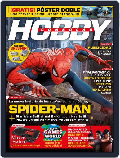 Hobby Consolas (Digital) August 1st, 2017 Issue Cover