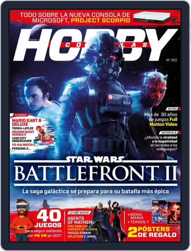 Hobby Consolas April 1st, 2017 Digital Back Issue Cover