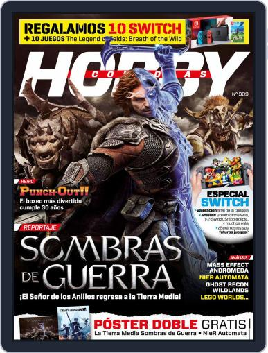 Hobby Consolas March 27th, 2017 Digital Back Issue Cover