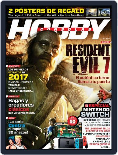 Hobby Consolas January 1st, 2017 Digital Back Issue Cover