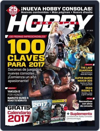 Hobby Consolas December 1st, 2016 Digital Back Issue Cover