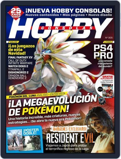 Hobby Consolas (Digital) November 1st, 2016 Issue Cover
