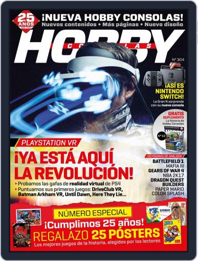 Hobby Consolas (Digital) October 1st, 2016 Issue Cover