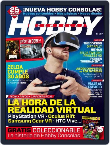 Hobby Consolas (Digital) March 23rd, 2016 Issue Cover