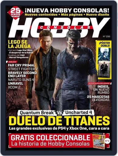 Hobby Consolas (Digital) February 26th, 2016 Issue Cover
