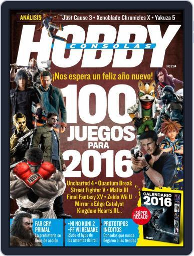 Hobby Consolas (Digital) December 1st, 2015 Issue Cover