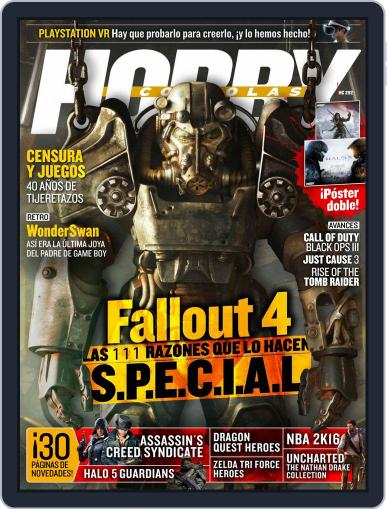 Hobby Consolas October 1st, 2015 Digital Back Issue Cover