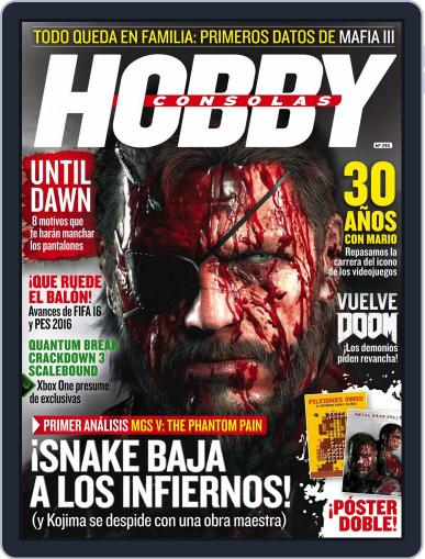 Hobby Consolas (Digital) August 1st, 2015 Issue Cover
