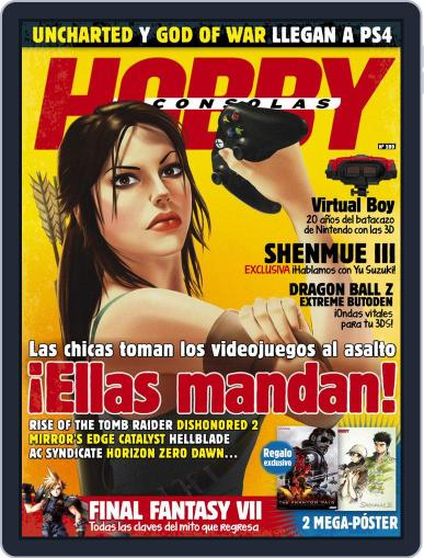 Hobby Consolas (Digital) July 1st, 2015 Issue Cover