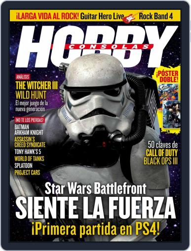 Hobby Consolas (Digital) May 25th, 2015 Issue Cover