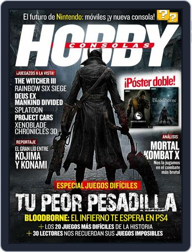 Hobby Consolas April 27th, 2015 Digital Back Issue Cover