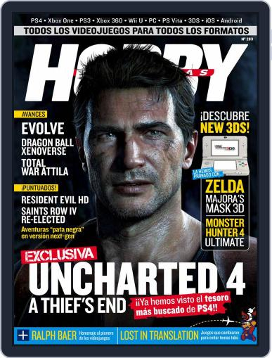 Hobby Consolas January 26th, 2015 Digital Back Issue Cover